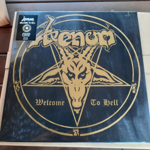 """VENOM """"Welcome to Hell"""" LP"""