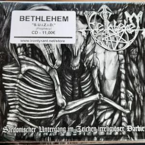 "BETHLEHEM ""S.U.i.Z.i.D."" Cd"