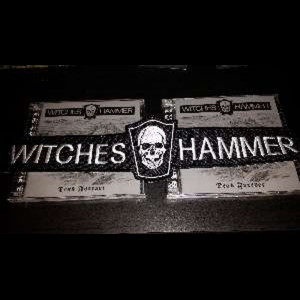 WITCHES HAMMER Logo Patch